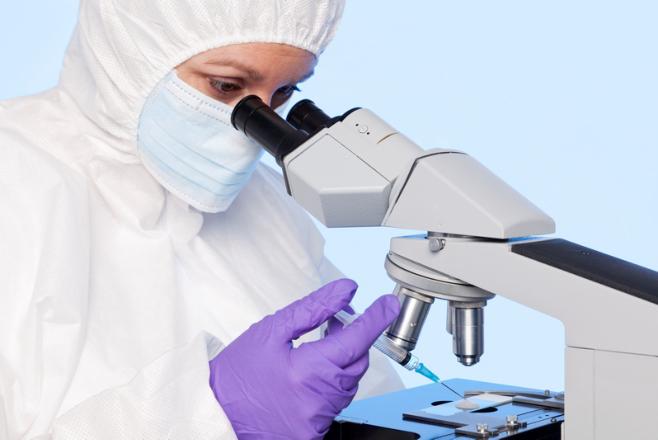 Scientist Work on Supposed Coronavirus Vaccine